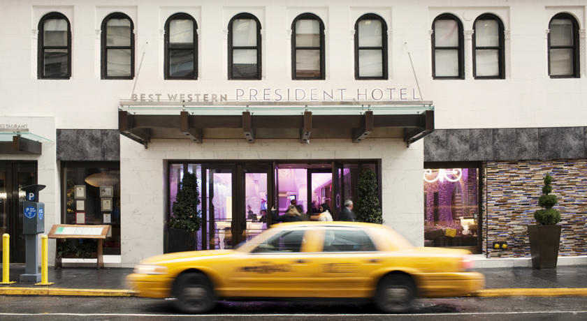 New York Best Western President Hotel US$128 per night only