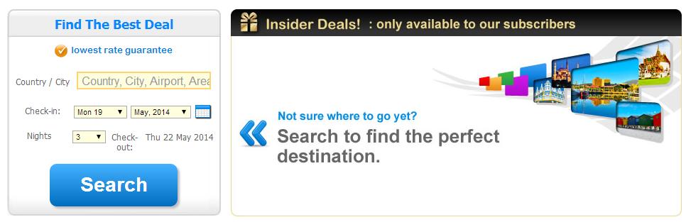 Insider deals agoda
