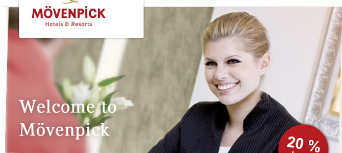 Moevenpick 20% off promotion code – Valid until Dec 2014