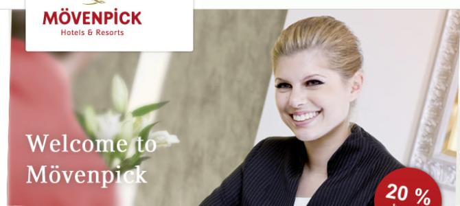 Moevenpick 20% off promotion code – Valid until Dec 2014