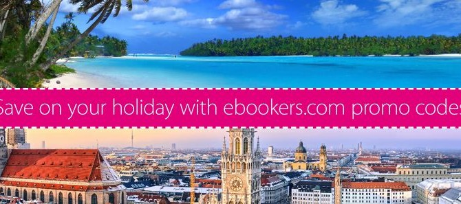 Ebookers 16% off Promotion code – Valid until 19 May (3 Days only Act Quick!)