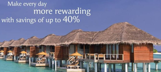 Luxury Hotel Anantara offer up to 40% off + free breakfast when you stay longer at their hotels – Valid until 25 August