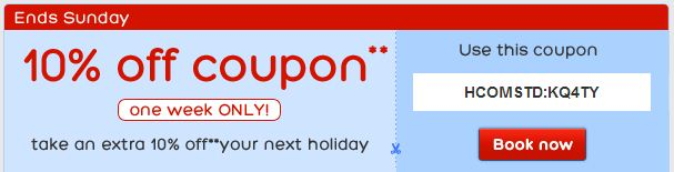 Discount hotel coupon books