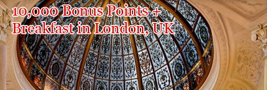 Stay 2 nights at London Autograph Collection and receive 10,000 Bonus Points