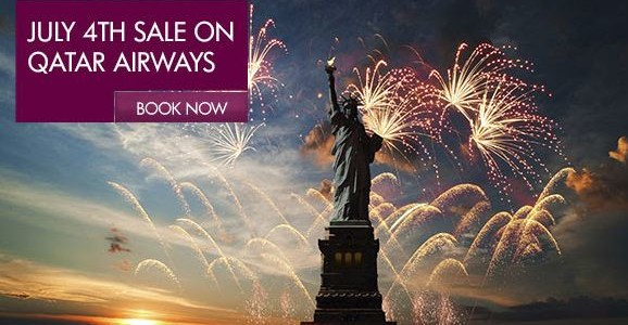 Get 10% off discount when you book Qatar Airways by 7th of July