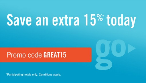 RatesToGo 15% off promotion code – Valid for booking before 3rd September 2014