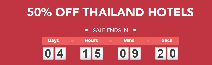 Hilton 50% off Thailand Hotels Sale started – Book by 13 September