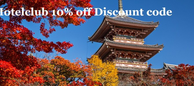 Hotelclub discount code: 10% off for Japan and Korea