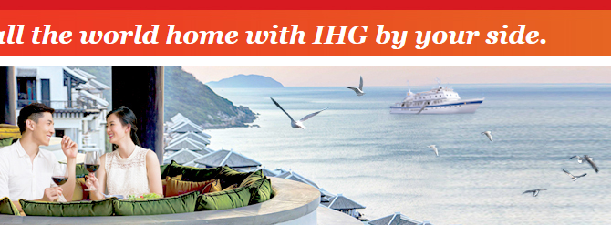 IHG 3X Points Promotion for stay in Asia Pac – Book by October 13