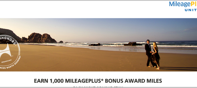 Earn 1,000 Mileageplus miles when you stay in Conrad or Waldorf-Astoria