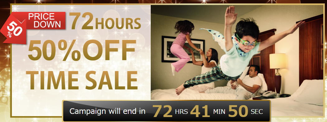 Hilton 72-Hour Japan and Korea 50 off sale started – book by 31