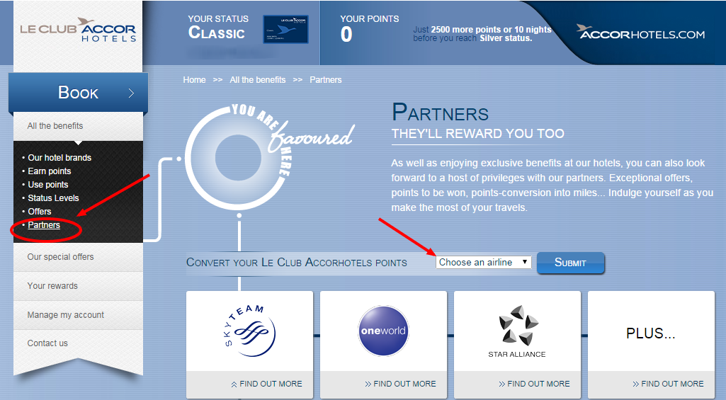 Partner Offers The Advantages Offered By Le Club Accorhotels Partners
