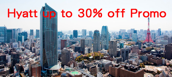 Now Live: Hyatt Asia Pac up to 30% off sale – Stay min 2 nights and book by January 31, 2015