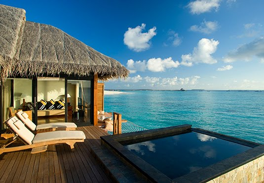 maldives water villa resorts with private pool 2
