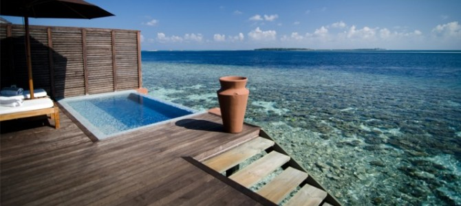Maldives Water villa Resorts with Private Pool – (2)