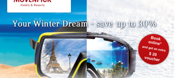 Moevenpick Hotels 30% off discount code – Book by February 28th, 2015