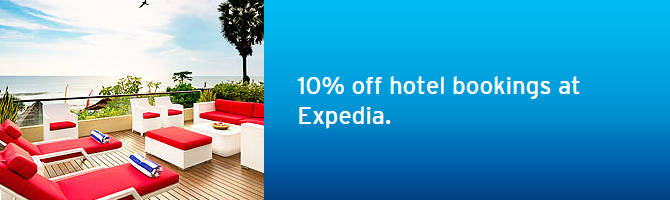 Expedia.com.hk new 10% off discount code – Book by Sep 30, 2015 (Eligible to earn Asia Miles too)