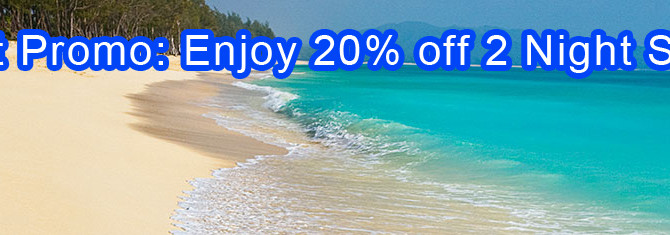Hyatt 2015 Spring Promo:Get 20% off 2 night stays and 25% off 3 night stays or more