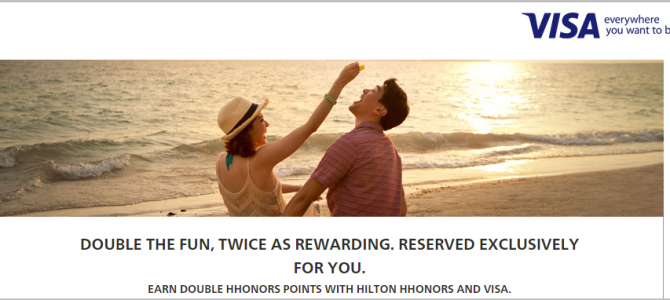 Hilton HHonors Double Points promotion for Asia-Pacific