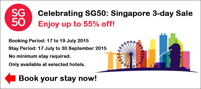 Singapore 3-day Sale  and up to 55% off – Agoda Flash Sale