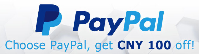 Ctrip CNY100 off discount code. Pay by Paypal and valid until December 31, 2015