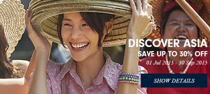 Hilton 30% off hotels in South East Asia – Book by September 30