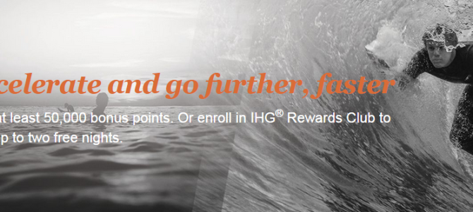 IHG Rewards Club easiest promo: Earn 1 free nights after 2 stay for new members!