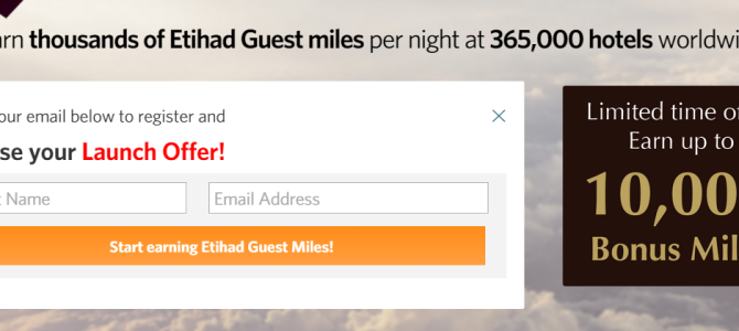 Kaligo up to 10,000 Etihad Guest miles promotion – Book by September 30, 2015 (Very easy for first 3,000 Etihad Guest Miles)
