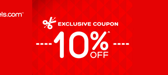 Hotels.com 10% off discount code – Valid until August 23