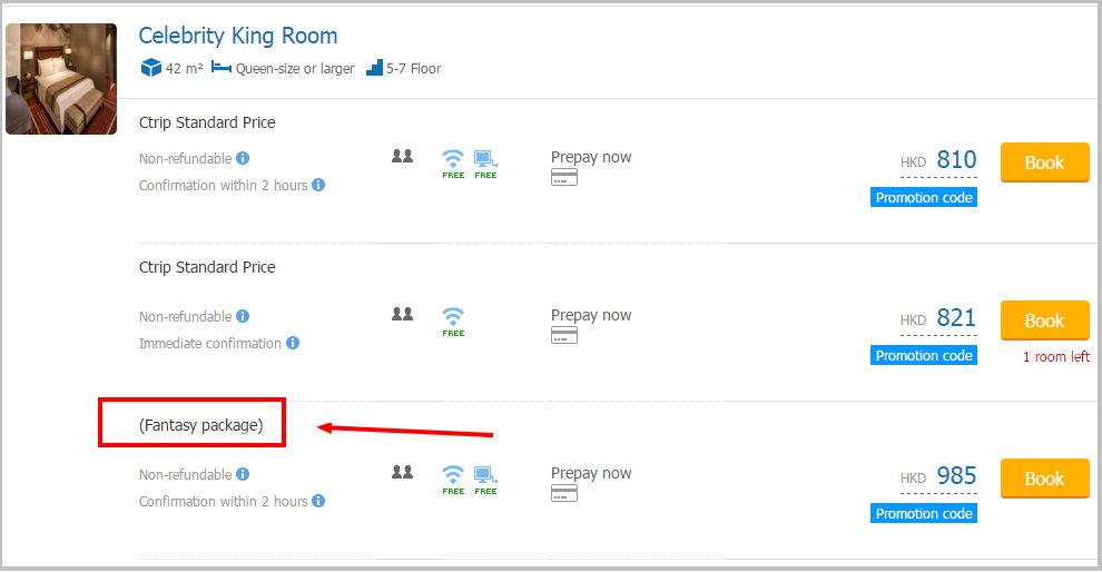 ctrip typical hotel arranging review