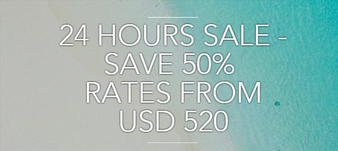 Amari Havodda Maldives24 Hours 50% off flash sale – Book by Feb 3