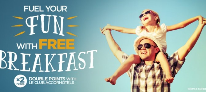 Accorhotels promo: Free breakfast and double points for hotels in Australia, New Zealand and Fiji