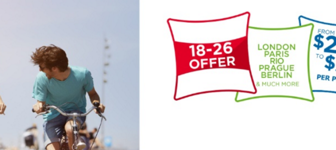 ibis 30-50% off for 18 to 26 years old guest – Book by May 15, 2016
