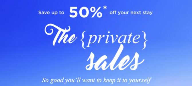 Accor Worldwide hotel 50% off private sale started – Book by April 28