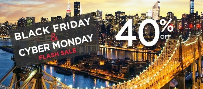 Accorhotels 2016 Black Friday Promo –  US and Europe hotels 40% up to 40% off. German and Austria hotels Pay 1 night stay 2 nights