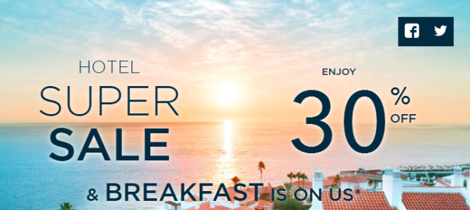 Accorhotels worldwide hotels up to 40% off crazy sale started! Free breakfast. book by June 5