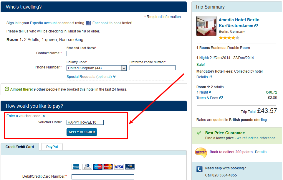 expedia singapore coupon code
