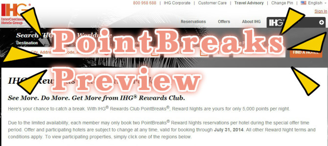 IHG reward club – HotelPromoBook com